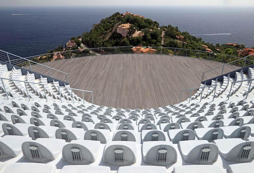 The Palais Bulles's amphitheater
