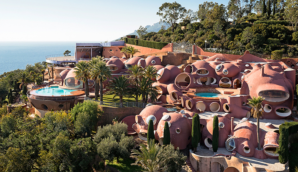 Pierre Cardin at the Palais Bulles