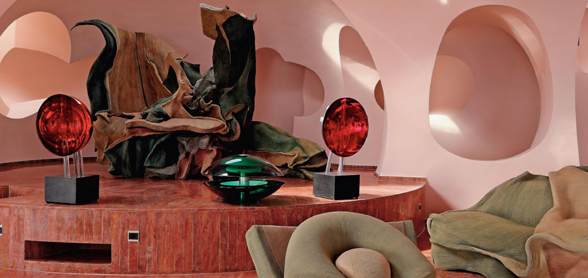 la résidence préférée de Pierre Cardin, conçue par l ...